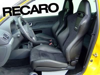 Fitting Recaros Cliomods Renault Clio 172 182 197